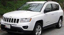 Jeep Compass Tailored Boot Mat