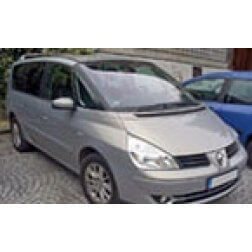 Renault Espace Tailored Boot Mat